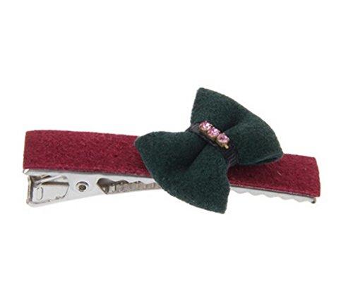 Hebew Wine Red Green Cartoon Child Hairpin Headwear(Hez266)