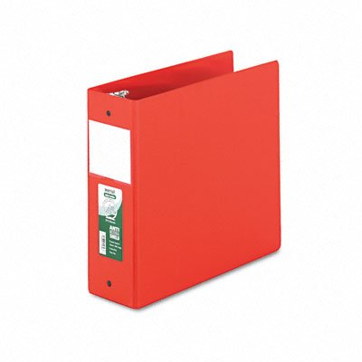 Antimicrobial locking round ring binder for 11 x 8-1/2 sheets, 4 cap., red - Buy Antimicrobial locking round ring binder for 11 x 8-1/2 sheets, 4 cap., red - Purchase Antimicrobial locking round ring binder for 11 x 8-1/2 sheets, 4 cap., red (Samsill, Office Products, Categories, Office & School Supplies, Binders & Binding Systems, Binders, Ring Binders, Round Ring Binders)