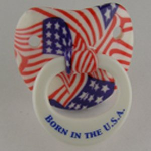 Billy Bob American Pride Pacifier front-489571