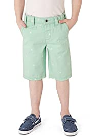 Autograph Pure Cotton Adjustable Waist Embroidered Shorts