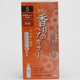 ビゲン香りのヘアカラー乳液5 40g+60ml