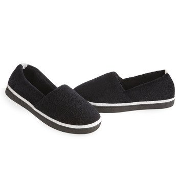 Cheap Isotoner Women's Microterry Espadrille Slippers (B007GB4TQM)