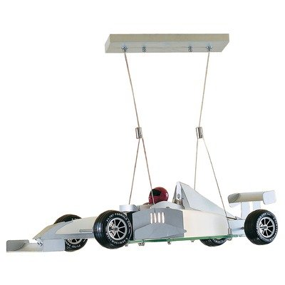 Monaco Racing Car Pendant 1X100 Watt Halogen Lamp