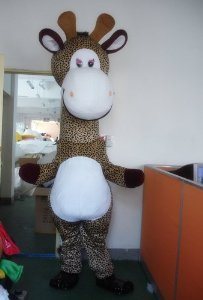 Cartoon Character Costume - Giraffe (Costume Male / Female)