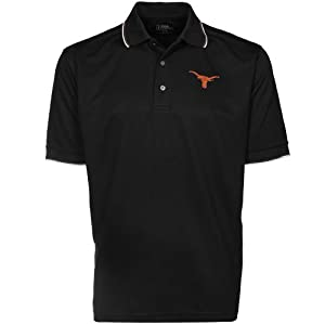 Texas Longhorns PGA TOUR Mens Tipped Polo Shirt by PGA TOUR
