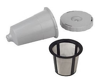 New Keurig Coffee My K-cup Reusable Replacement Filter Set w/ Basket B30/31/40/50/60/70