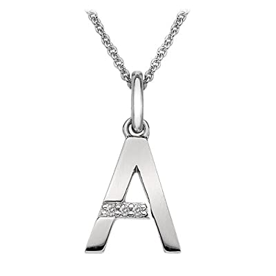 Hot Diamonds Micro Letter Pendant of 46cm