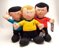 "10"" Star Trek Captain Kirk Plush"