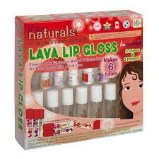 Kiss Naturals DIY Lava Lip Gloss Making Kit