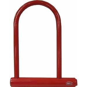 bell catalyst 300 u lock bicycle lock red bike u locks sports outdoors. Black Bedroom Furniture Sets. Home Design Ideas