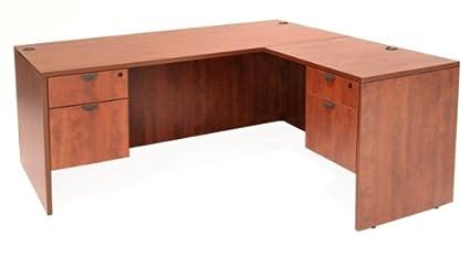 Regency LLD6030 L Shaped Desk Maple