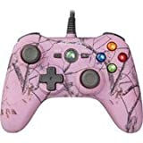 Power a Realtree Mini Pro Ex Wired Controller, Pink Ap (Xbox 360)
