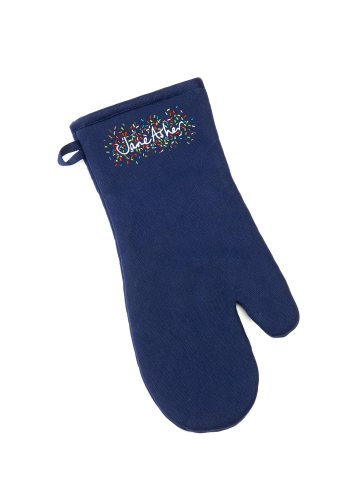 Jane Asher Embroidered Oven Mitt