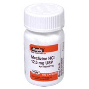 Meclizine Hcl 25 Mg Tablets Uk
