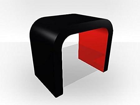 Exterior de color negro forma de U Pequeña Unidad de Medios