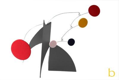 Modern Art Stabile - Desktop Art Sculpture Mid Century Modern