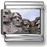 Mount Rushmore Italian charm