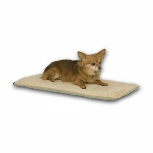 K & H Thermo Pet Mat Heated Dog Bed - Mocha Kh-4081