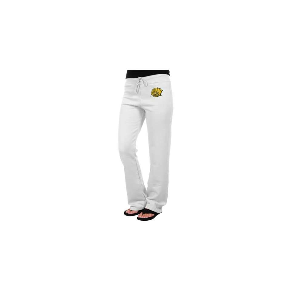 Arkansas Pine Bluff Golden Lions Ladies White Logo Applique Sweatpant