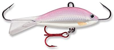 Rapala Jigging Shad Rap 05 Fishing Lure 2-inch Glow Red from Rapala