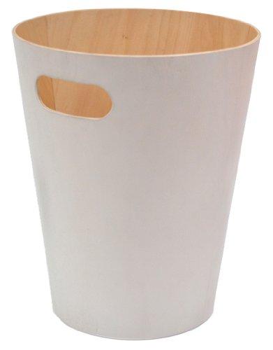 Umbra 082780-668 Woodrow Corbeille Papier - Bois Blanc
