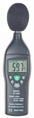 Reed Instruments St-805 Sound Level Meter, Type 2