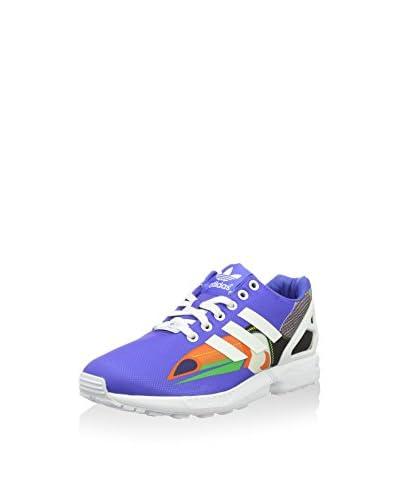 adidas Sneaker ZX Flux blau/weiß