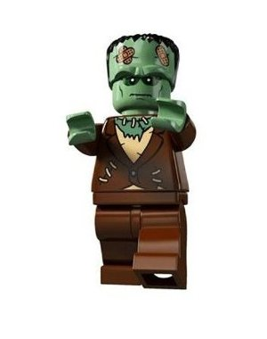 LEGO Series 4 Collectible Minifigure The Monster Frankenstein (TM) - 1