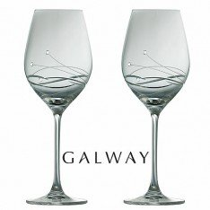 Q Beauty Galway Galway Crystal Chic White Wine Glasses: Amazon.co.uk: Kitchen & Home