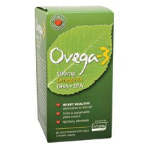 Amerifit Nutrition - Ovega-3 500 mg 60 softgels [Health and Beauty] ( Multi-Pack)