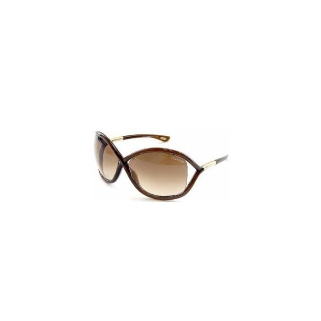 f307cbb5ebe9f New TOM FORD Whitney TF9 692 Sunglasses 64 14 110 Transparent Dark Lens  Brown  Rose