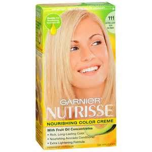 Cheapest Garnier Nutrisse Level 3 Permanent Hair Creme, Extra, Light Ash Blonde 111 (White Chocolate) by LOreal Hair Color - Free Shipping Available
