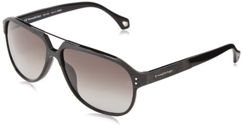 Zegna SZ3654M-700 Mens SZ3654M-700 Shiny Black Sunglasses