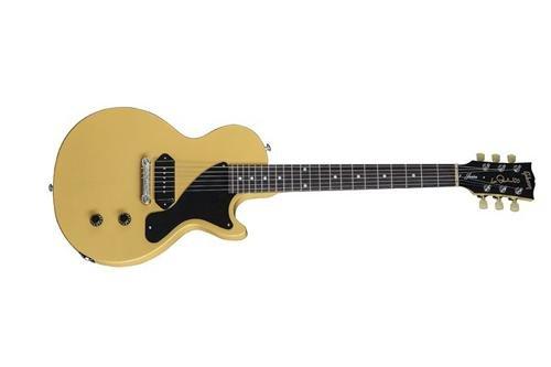 Gibson 2015 Les Paul Junior Single Cut Electric Guitar (Gloss Yellow)