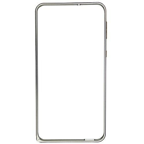 Casotec Metal Aluminium Bumper Frame Case Cover for HTC Desire 820 - Silver
