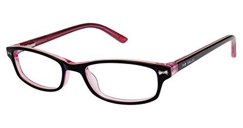 Ted Baker Women'S Optical Eyeglasses B901 Black/Rose Size 45