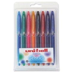 Roller Uni-Ball UM170Signo Gelstick 0,7mm punta 0,4mm, colori assortiti, 5011715Portafoglio [8]