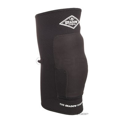 The Shadow Conspiracy Super Slim Protective Knee Pad: Black; MD