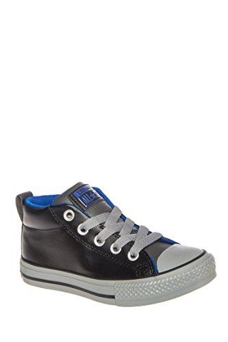 Unisex Kid's Chuck Taylor Street Mid Top Sneaker