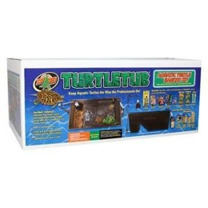 Zoo Med Turtle Tub Complete Kit Turtle Tank Supplies