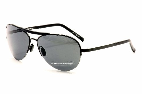Porsche Designs Sunglasses P8540 A Matte Black Gray Blue 60 14 130