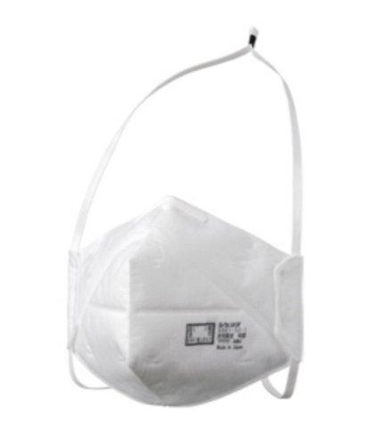 ぴったり密着!安心国産♪ DS2使い捨て式防じんマスク 花粉・大気汚染・PM2.5対策 DD01-S2-1(10枚入り) 国家検定合格