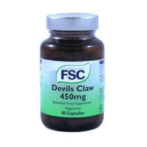 FSC Devils Claw 450mg 60 Capsules