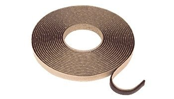 C.R. Laurence .13 in. x .38 in. Black Double Sided Glazing Tape 2R-IYJY-PD15