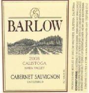 2008 Barlow Cabernet Sauvignon 375 Ml