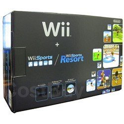 Nintendo Wii Console with Wii Sports and Wii Sports Resort