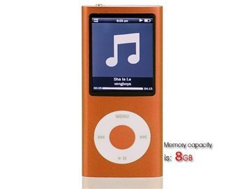 Statistics For 8Gb 2.2 Lcd Screen Mp4 Player Containing 0.3M Camera (Orange)