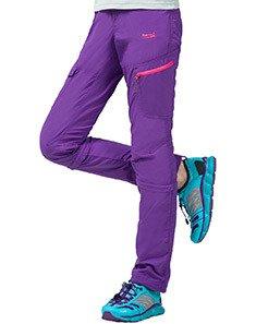 Makino Women's Summer Lightweight Outdoor Sport Convertible Quick-drying Shorts Pants