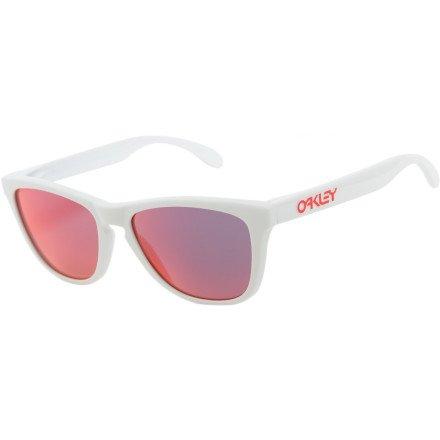 64b314179f9 Top Offers Oakley Mens Frogskins 24-307 Iridium Cat Eye Sunglasses ...