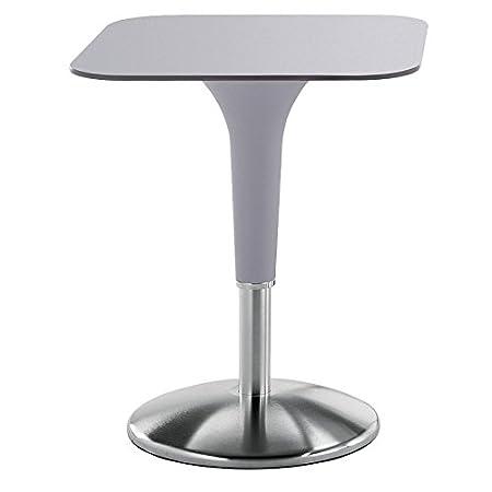 REXITE - ZANZIPLANO Tavolino quadrato, colore grigio perla